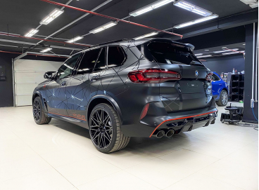 Шумоизоляция BMW X5M F95