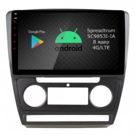 Магнитола Android 10 Шкода Октавия A5 (2004-2013) Roximo RI-3202B