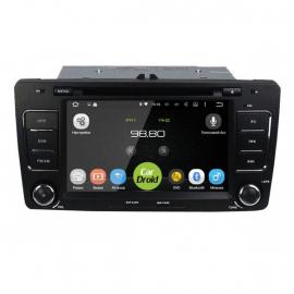 Штатное головное устройство Андроид 10 Шкода Октавия A5 (2004-2013) Roximo CarDroid RD-3202D