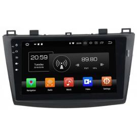 Штатное головное устройство Андроид 10 Мазда 3 BL (2009-2013) Carmedia KD-9035-P30