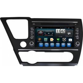 Магнитола Андроид 6 Honda Civic IX 4D (2013-2016) Carmedia QR-8071