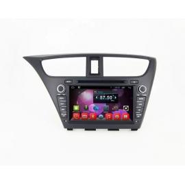 Магнитола Андроид 6 Honda Civic IX 5D (2013-2016) Carmedia QR-8067