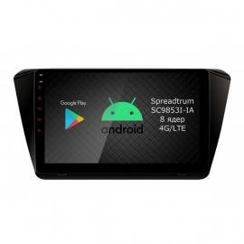 Магнитола Android 10 Шкода Суперб Б8 (2008-2015) Roximo RI-3205