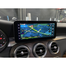 Яндекс навигация Mercedes GLC (Android, 2019, 2020 и 2021)