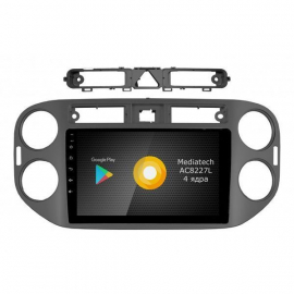 Штатная магнитола Android 10 Volkswagen Tiguan (2008-2016) Роксимо S10 RS-3704