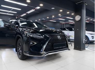 Шумоизоляция Lexus RX