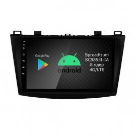 Магнитола Android 9 Мазда 3 BL (2009-2013) Roximo RI-2414