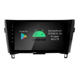 Штатное головное устройство Android 9 Nissan Qashqai II (2013-2019) Roximo RI-1202