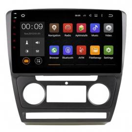 Штатное головное устройство Android 10 Шкода Октавия A5 (2004-2013) Roximo 4G RX-3202B