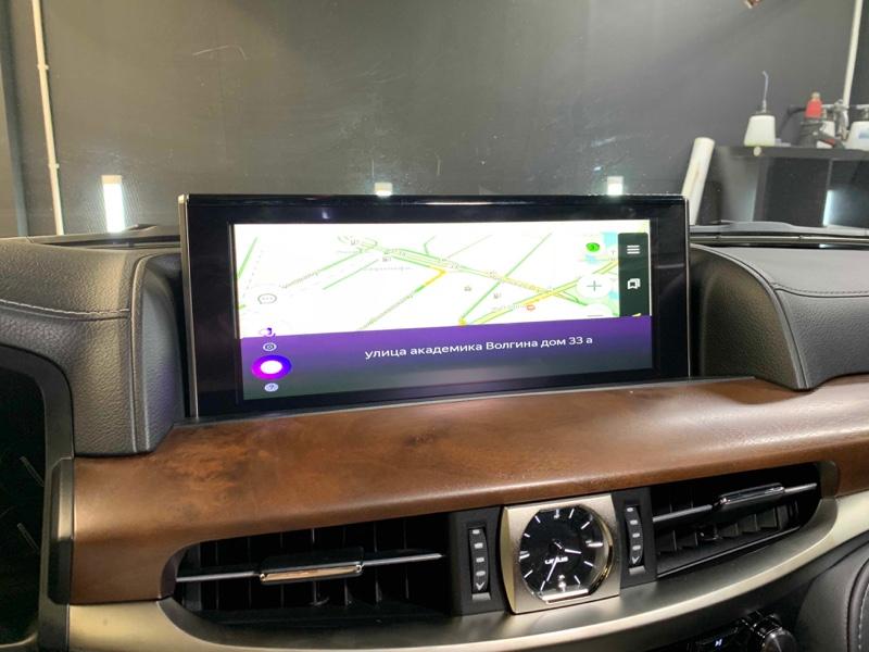 Android навигация в Lexus LX